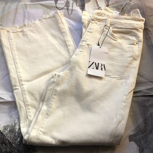 Zara high waisted jeans size 34